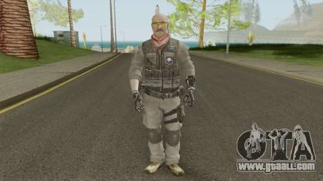 ISA Assault (Call of Duty: Black Ops 2) for GTA San Andreas