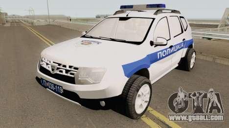 Dacia Duster Serbian Police for GTA San Andreas