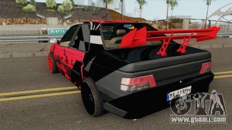 IKCO Peugeot 405 GLX Full-Tuning for GTA San Andreas
