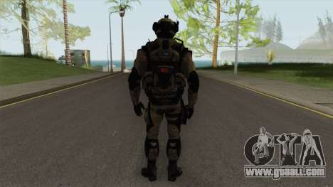 Stormtrooper From Squad Night Tiger (Warface) for GTA San Andreas