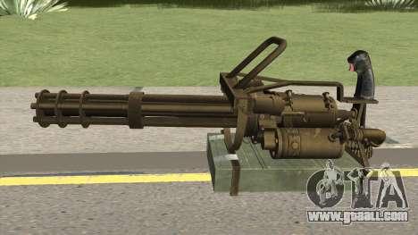 M-134 Minigun Desert Ops Camo for GTA San Andreas