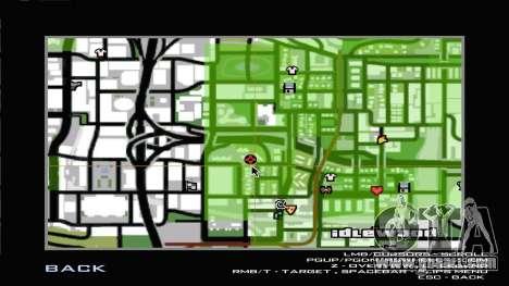 Westside Mob Piru Environment for GTA San Andreas