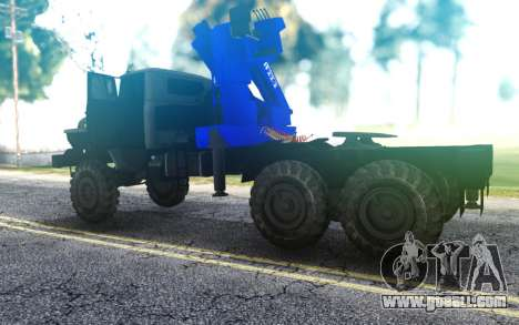 Truck tractor Ural 4320-1912-72 CMU ANT 22-2 for GTA San Andreas