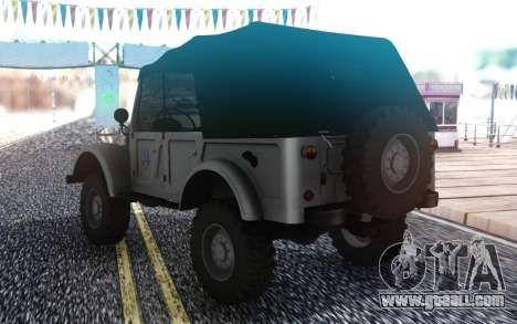 GAZ-69 Farmer Simulator 2015 for GTA San Andreas