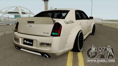 Chrysler 300 SRT8 Liberty Walk LB Performan 2012 for GTA San Andreas