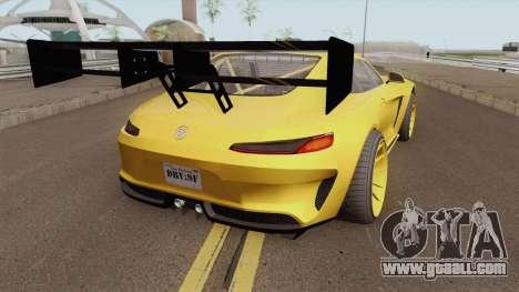 Benefactor Schlagen GT GTA V IVF for GTA San Andreas
