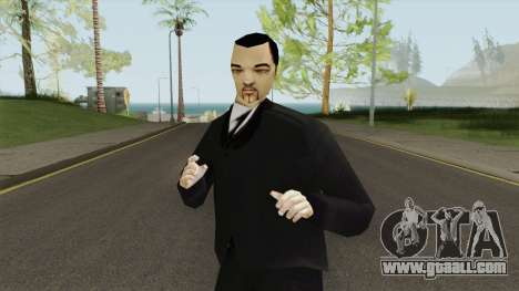 Leone Mafia (GTA III) Without Glasses for GTA San Andreas