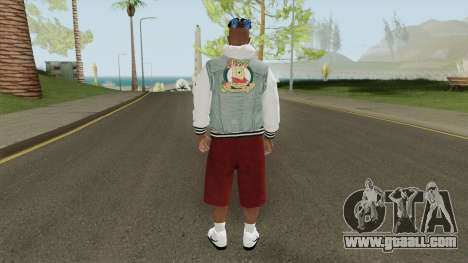 Skin Random 124 (Outfit XXXTenatcion) for GTA San Andreas