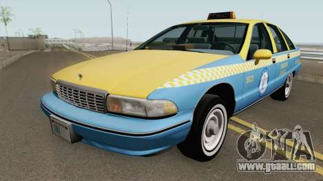 Chevrolet Caprice 1991 Taxi for GTA San Andreas