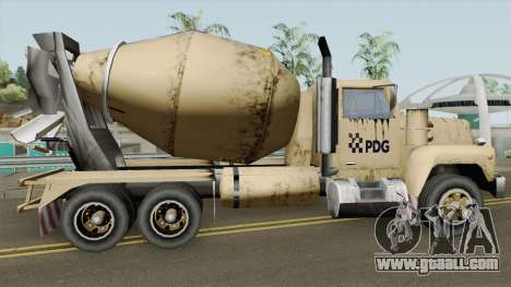 Cement - Caminhao de Cimento PDG for GTA San Andreas
