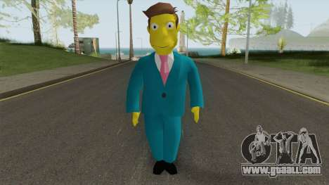 Seymour Skinner - Simpsons Hit and Run for GTA San Andreas