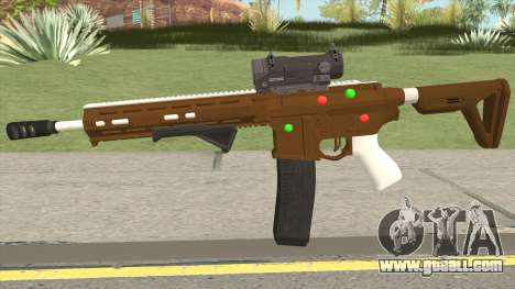 GTA Online: Carbine Rifle Mk.II Fruitcake for GTA San Andreas