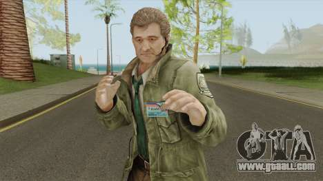 Clive O Brian From Resident Evil: Revelations for GTA San Andreas