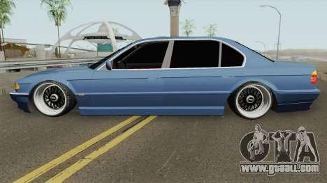 BMW E38 750iL SlowDesign 1999 for GTA San Andreas