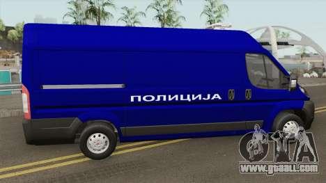 Fiat Ducato Maxi Serbian Police for GTA San Andreas