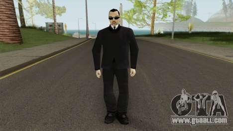 Leone Mafia (GTA III) With Glasses for GTA San Andreas