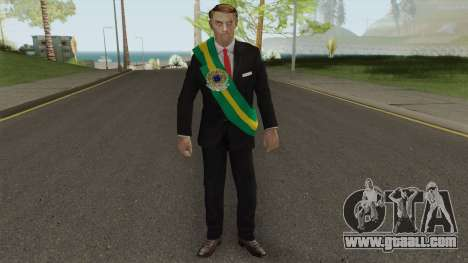 Bolsonaro Presidente V1 for GTA San Andreas