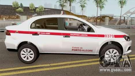 Volkswagen Voyage (Taxi) Cidade de Porto Alegre for GTA San Andreas