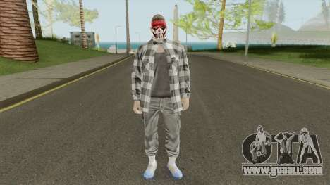 GTA Online Skin Male 1 for GTA San Andreas