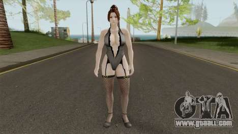Dead Or Alive 5 LR Mai Shiranui After Hours for GTA San Andreas