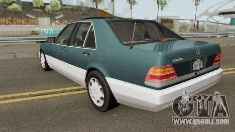 Mercedes-Benz S-Class (W140) 300SD 1992 US-Spec for GTA San Andreas