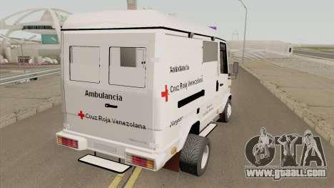 Mercedes-Benz Vario 512D Ambulancia Venezuela for GTA San Andreas