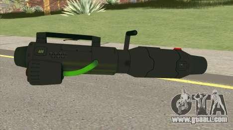 GTA Online (Arena War) Minigun for GTA San Andreas