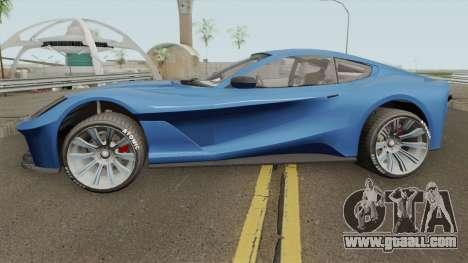 Grotti Itali GTO GTA V for GTA San Andreas