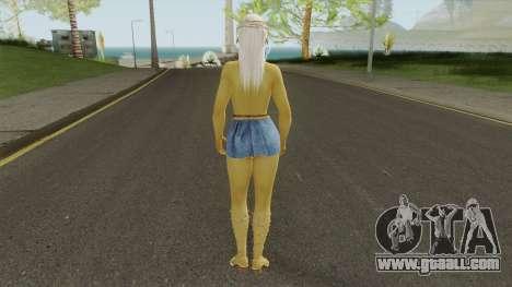 Misaki Denim Dress DoA5 for GTA San Andreas