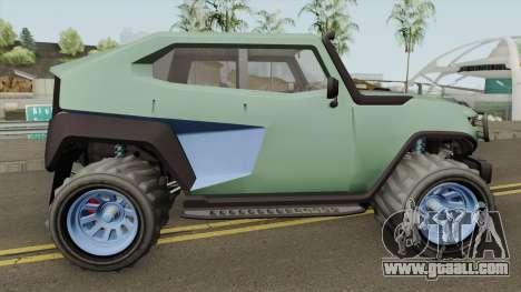 Canis Freecrawler GTA V for GTA San Andreas