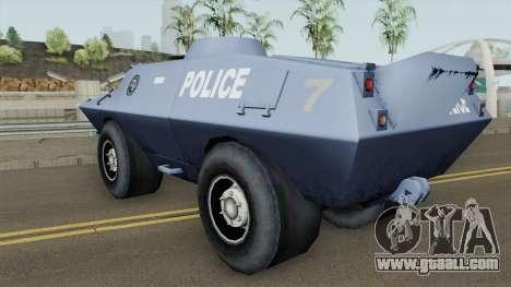 BETA Swatvan for GTA San Andreas
