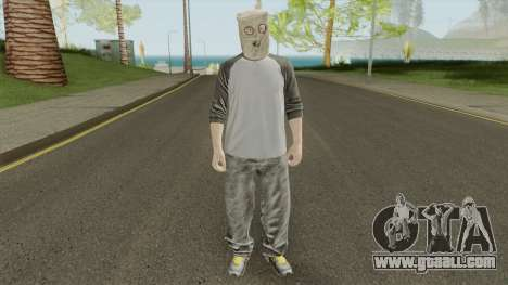 GTA Online Skin Male 2 for GTA San Andreas