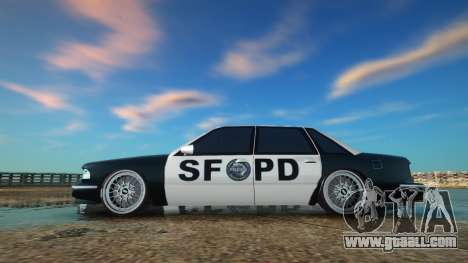 Police SF Low for GTA San Andreas
