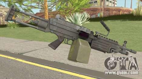 M249 (VAGANCIA) for GTA San Andreas