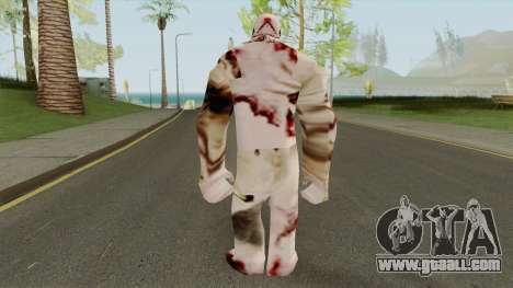Mutant Player Skin for GTA San Andreas