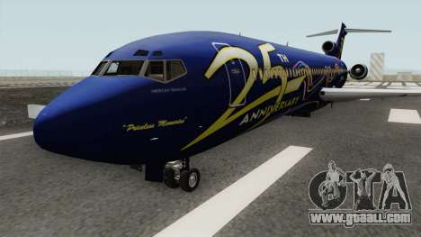 Boeing 727-200 American Trans Air for GTA San Andreas