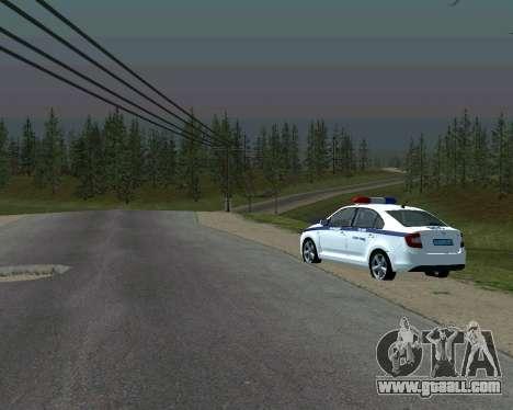 Skoda Rapid DPS for GTA San Andreas