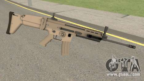 SCAR-L HQ for GTA San Andreas