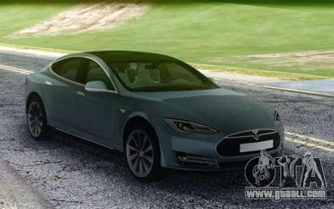 Tesla Model-S P90D for GTA San Andreas