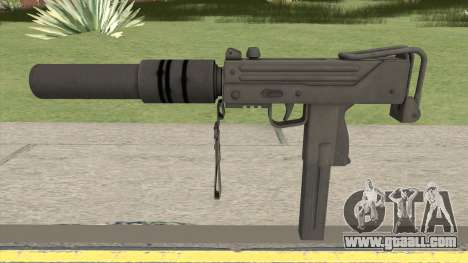 MAC-10 Suppressed HQ for GTA San Andreas