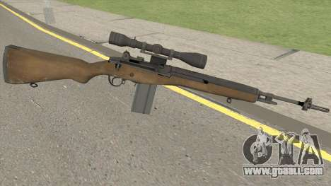 M14 Sniper HQ for GTA San Andreas