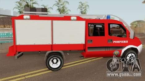 Iveco Daily Mk4 - Autospeciala Pompieri 2008 for GTA San Andreas