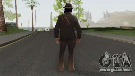 John Marston Elegant Outfit From RDR 2 V1 for GTA San Andreas