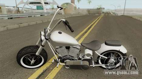 Western Motorcycle Zombie Chopper GTA V for GTA San Andreas