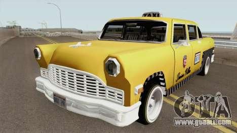 Cabbie Remasterizado for GTA San Andreas