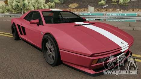 Grotti Cheetah Classic GTA V for GTA San Andreas