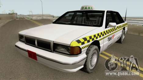 Taxi (Santos-SP-MG) TCGTABR for GTA San Andreas
