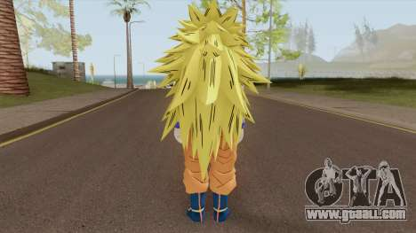 Goku SSJ3 for GTA San Andreas