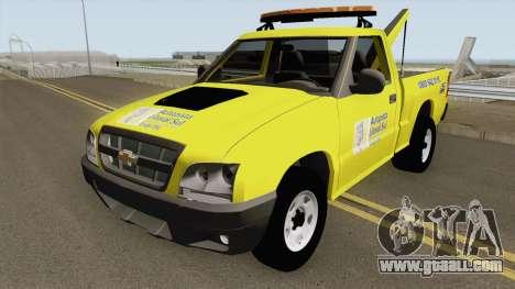 Chevrolet S10 Guincho Auto Pista Litoral Sul for GTA San Andreas