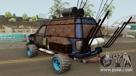 Declasse Brutus Apocalypse GTA V IVF for GTA San Andreas